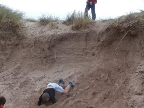 We liked climbing the sand dunes! KH+JM P3